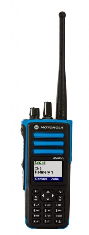 Портативная радиостанция Motorola DP4801Ex ATEX - 7.